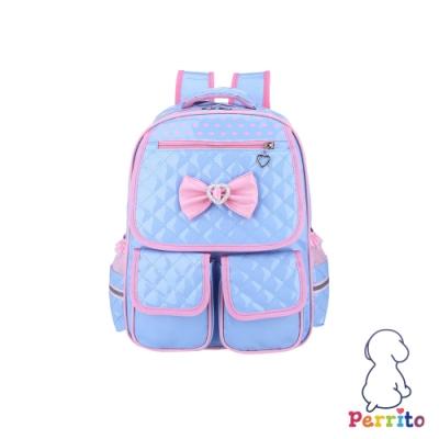 Perrito「公主寶貝」核心護脊兒童書包 (藍色)