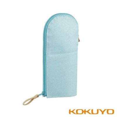 KOKUYO NEOCRITZ Marucru站立筆袋圓領-藍