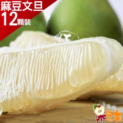 果之家 特選台南老欉40年正麻豆文旦12顆裝