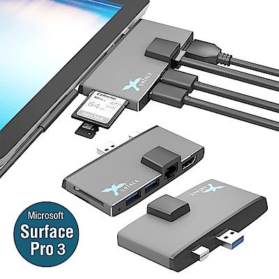 [Xurface]Surface Pro3 LAN,HDMI擴充座_SUR768 P3