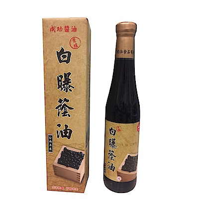 成功醬油 白曝蔭油 420ml*8