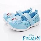 迪士尼童鞋 冰雪蕾絲娃娃鞋款 EI4736藍(中小童段)