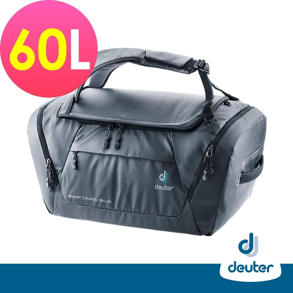 【deuter德國】Aviant Duffel Pro 60L多功能裝備包3521120黑