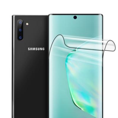 三星 Galaxy Note 10全膠 高清 曲面黑 軟膜 手機保護貼
