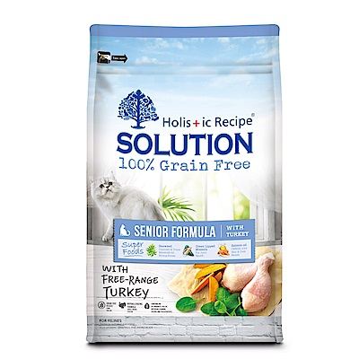 耐吉斯 超級無穀高齡貓 養生配方 1.5KG 兩包組