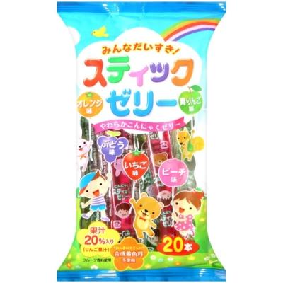 立夢 歡樂綜合水果風味果凍條(310g)