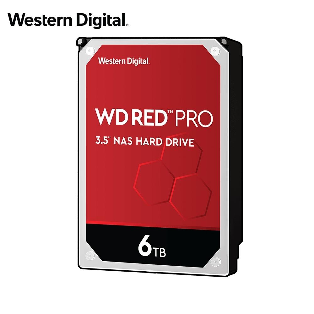 WD 旗艦紅標 6TB 3.5吋 NAS硬碟(WD6003FFBX)