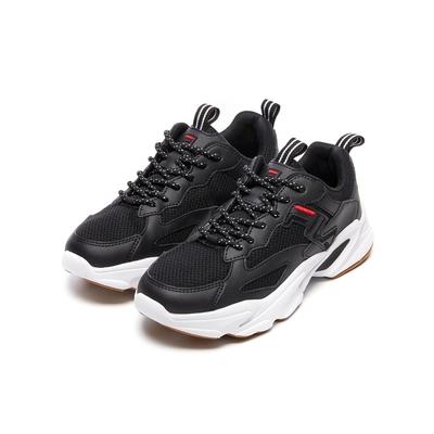 FILA BEATS TRACER 2.0 女慢跑鞋-黑 5-J526V-012