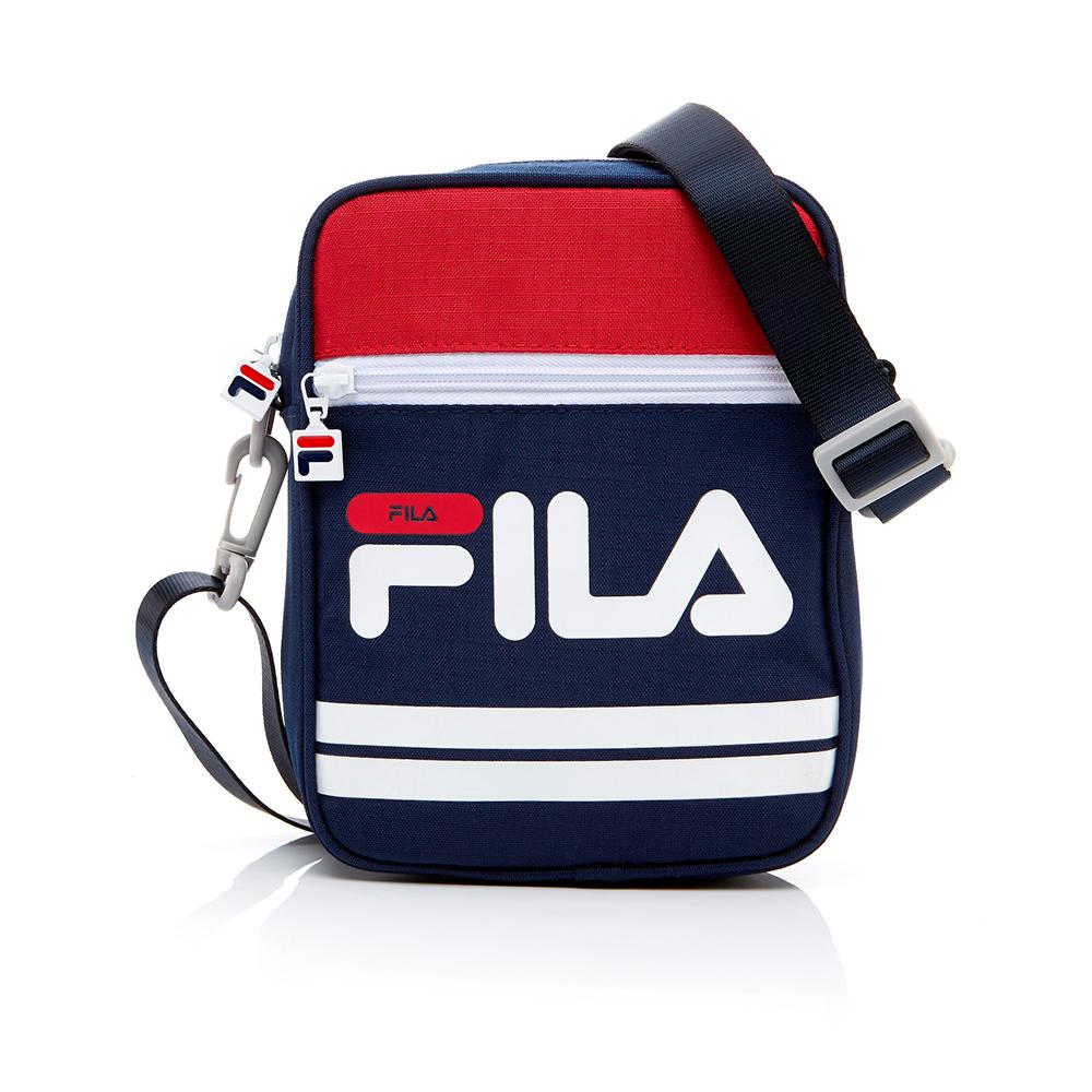 FILA 小型斜肩包-紅 BMT-1102-RD