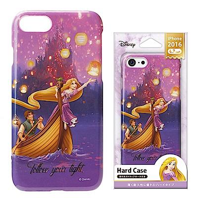 iPhone 8/7/手機殼 迪士尼 PC塗鴉 硬殼 4.7吋-長髮公主