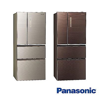 [無卡分期-12期]國際牌 610L 1級變頻4門電冰箱 NR-D610NHGS