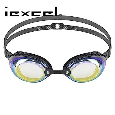 iexcel 蜂巢式電鍍專業光學度數泳鏡 VX-935