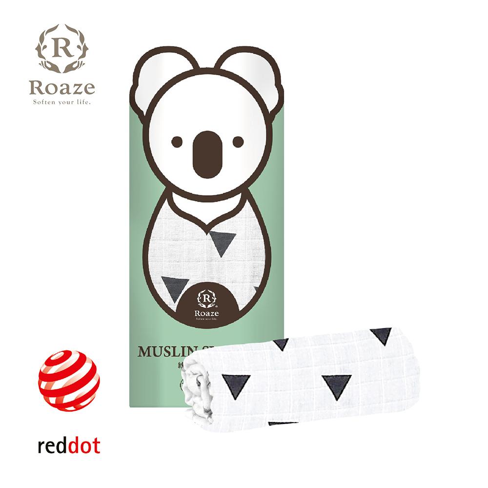 【Roaze 柔仕】 棉柔包巾毯 -魔術三角