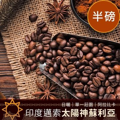 CoFeel 凱飛鮮烘豆印度邁索太陽神蘇利亞日曬單一莊園咖啡豆半磅