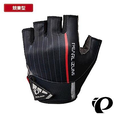 《PEARL iZUMi》1720-10 18 3D 涼感抗UV頂級型半指手套 黑