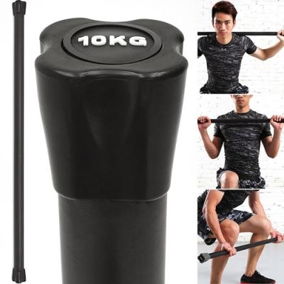 BODY BAR有氧健身10KG體操棒 (長桿120CM跳操平衡棒/重量棒形體棒韻律棒/塑形棍塑身棍10公斤)