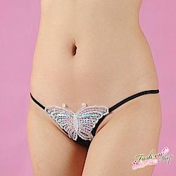 情趣內褲 蝴蝶密碼女生日系情趣三角內褲 流行E線