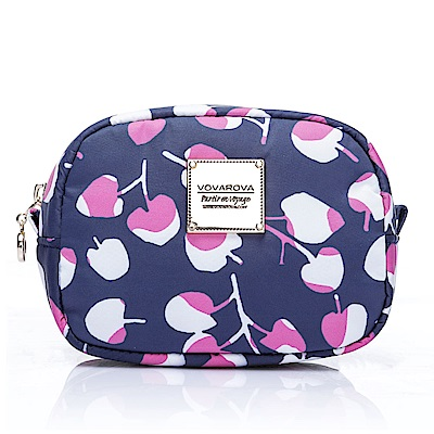 VOVAROVA空氣包-隨身化妝包-Cherrypicks-Indigo&pink