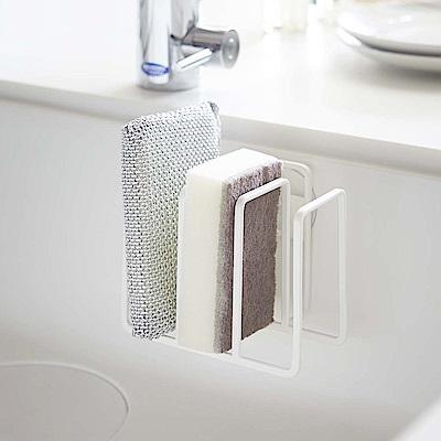 ~YAMAZAKI~Plate海綿收納架~衛浴收納 廚房收納 雜物架