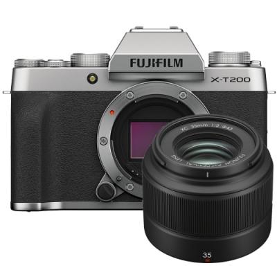 FUJIFILM X-T200 單機身 + XC 35mm F2 (公司貨)