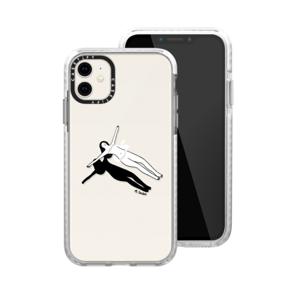 Casetify iPhone 11 耐衝擊保護殼-慵懶假期