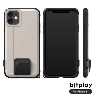bitplay SNAP! iPhone 11 (6.1吋)專用 喀擦一鍵即拍相機快門鍵全包覆軍規防摔相機殼-沙