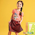 bossini女童-玩具總動員造型上衣桃