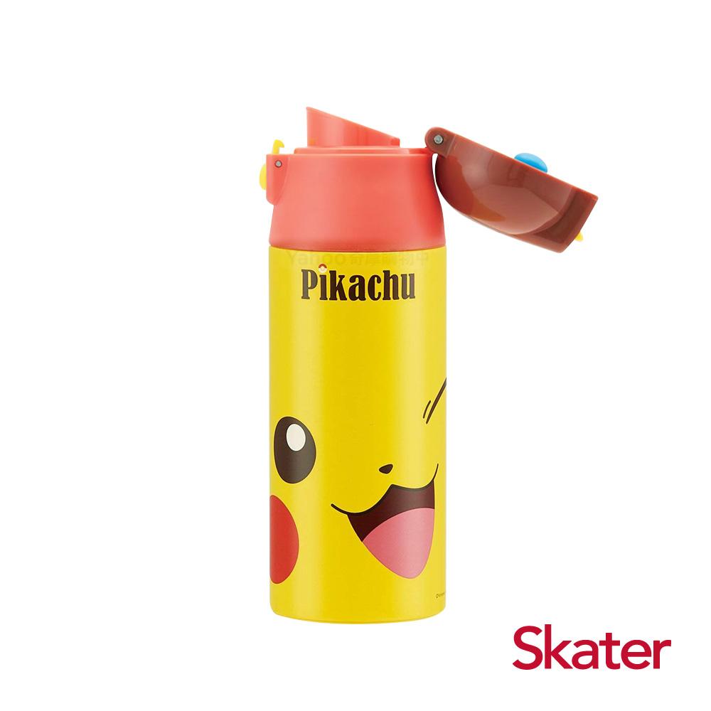 Skater直飲不鏽鋼保溫瓶(360ml)皮卡丘FACE