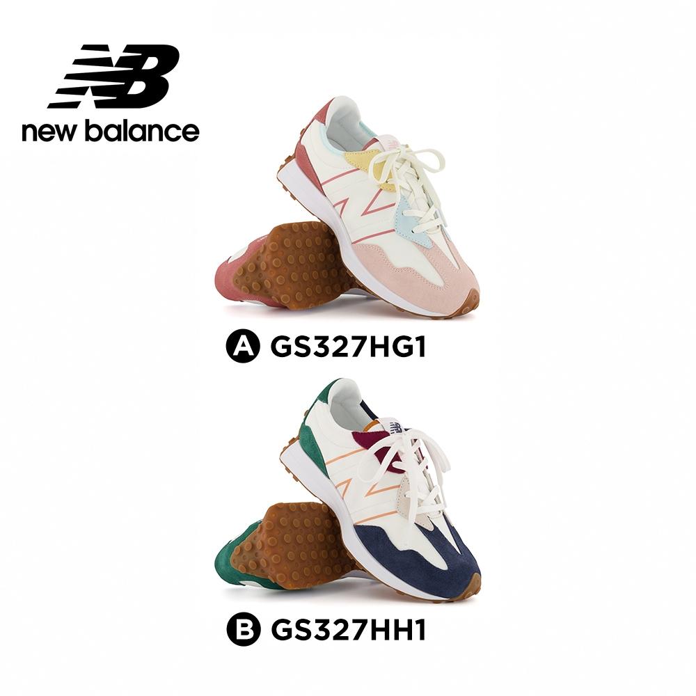 [New Balance]童鞋_中性_327系列2款 (GS327HG1+GS327HH1)