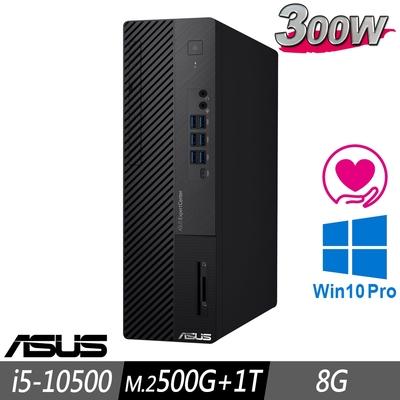 ASUS M700SA 薄型商用電腦 i5-10500/8G/M.2-500GB+1TB/W