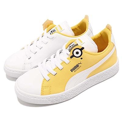 Puma 休閒鞋 Minions Basket BS 童鞋