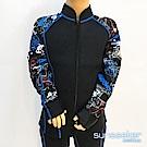 澳洲Sunseeker泳裝男童長袖專業衝浪潛水防寒衣-全拉鍊上衣