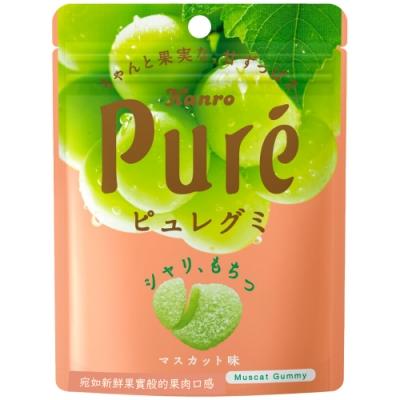 甘樂 Kanro Pure鮮果實軟糖-白葡萄(56g)