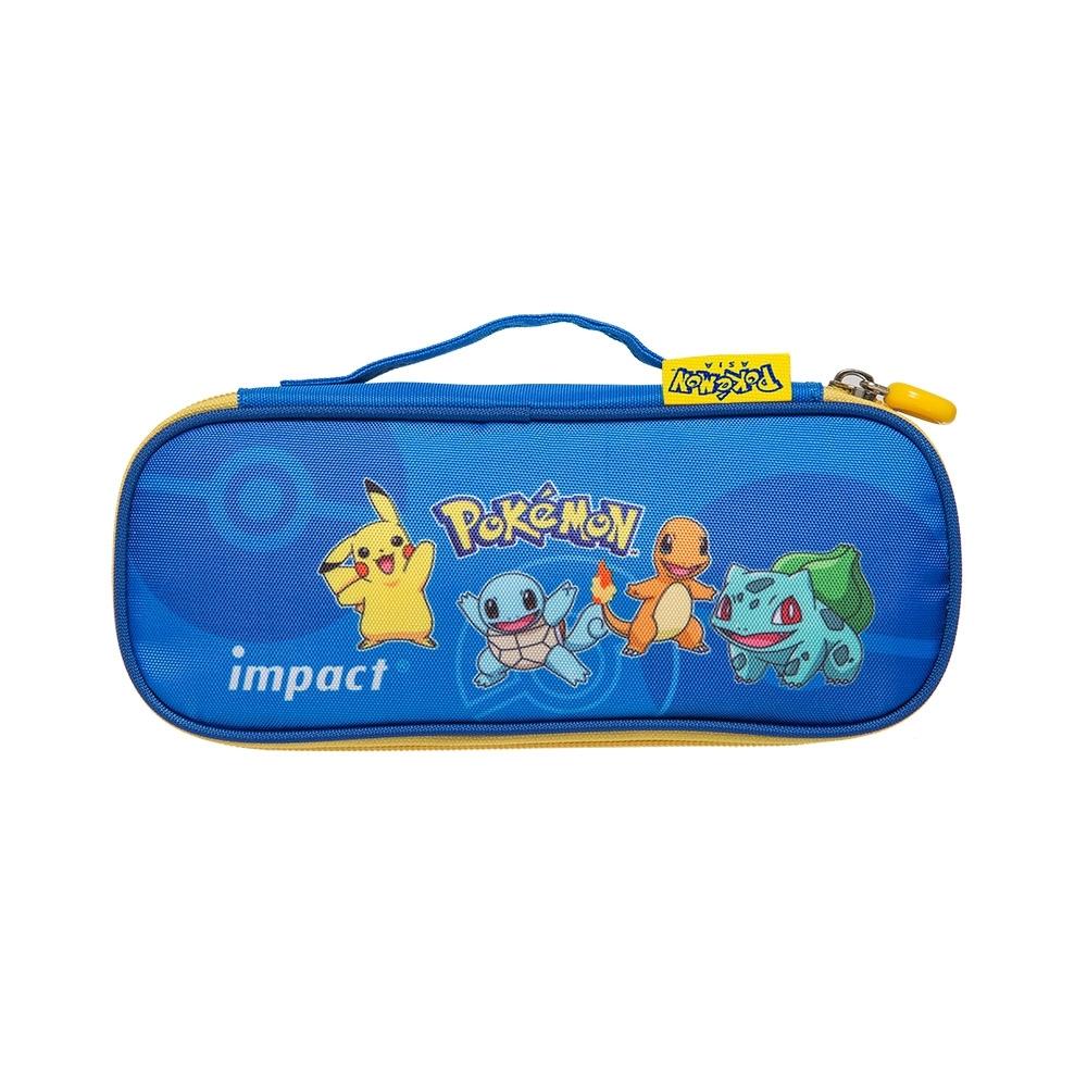【IMPACT】寶可夢筆袋-藍色 IMPKML01RB