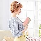KINAZ 古典迴廊ㄇ字型長夾-粉系戀曲-莊園系列