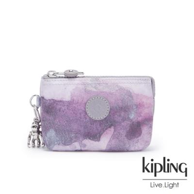 Kipling 淡雅雲彩渲染三夾層配件包-CREATIVITY S