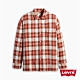 Levis 男款 格紋襯衫 Oversize寬鬆版型 復古學院風 product thumbnail 1