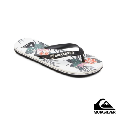 【QUIKSILVER】MOLOKAI EVERYDAY PARADISE 拖鞋 白色