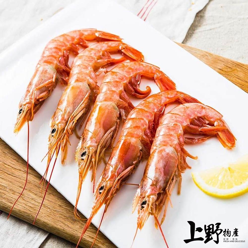 【上野物產】生食級阿根廷天使紅蝦(2000g土10%/盒) x6盒