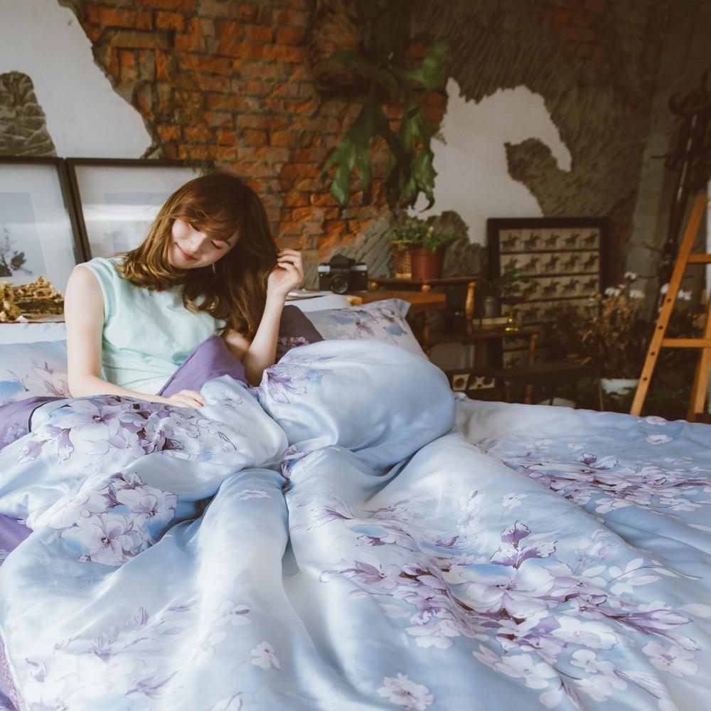 (限時下殺)夢之語 頂級天絲床包枕套組 單/雙/加/均一價 (多款任選) (愛如潮水)