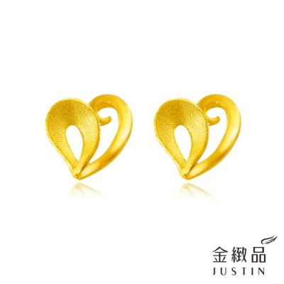 金緻品 黃金耳環 樂活之音 0.32錢