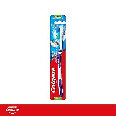 高露潔 加倍潔淨牙刷 顏色隨機