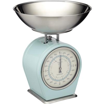 《KitchenCraft》復古料理秤(藍4kg)