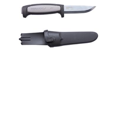 MORAKNIV 12249 Robust 高碳鋼直刀 黑/灰 12249