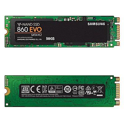 Samsung 860 EVO M.2 500GB SSD固態硬碟