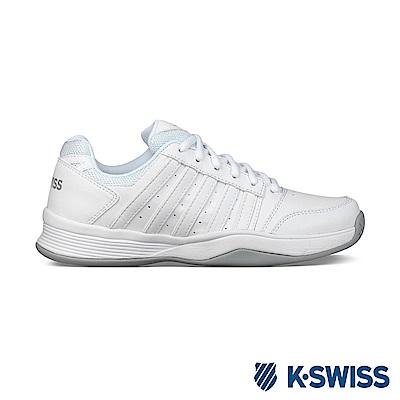 K-Swiss Court Smash輕量網球鞋-女-白