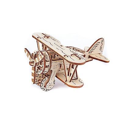 波蘭 WOODEN CITY 動力模型/螺旋槳飛機