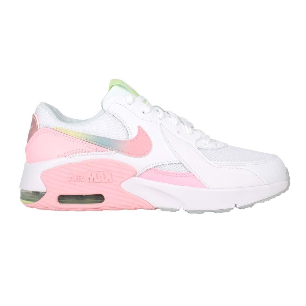 NIKE AIR MAX EXCEE MWH-GS 女大童運動鞋-慢跑 氣墊 CW5829100 白粉綠