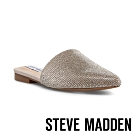 STEVE MADDEN-TRACED 領潮晶閃水鑽穆勒鞋-銀色