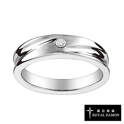 Royal Damon羅亞戴蒙 戒指 真鑽系列 脈動(大)RZ495